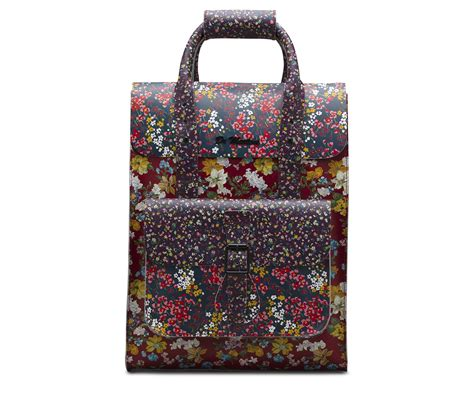 Floral Stores by Floral Leather Backpack Official Dr Martens Store