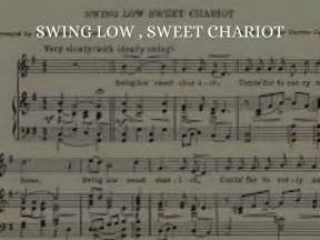 swing low sweet chariot song meaning negro spirituals by monya gavin16