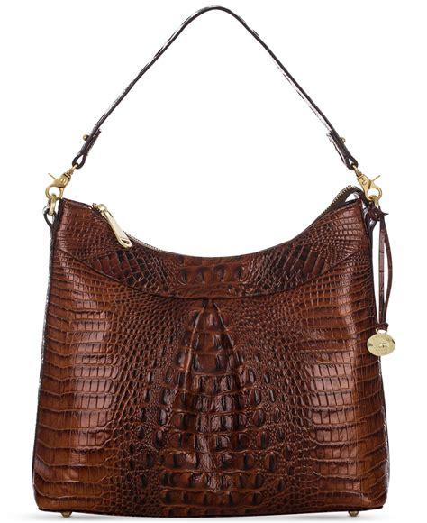 Handmade Leather Handbags Melbourne - brahmin melbourne bristol hobo in brown lyst