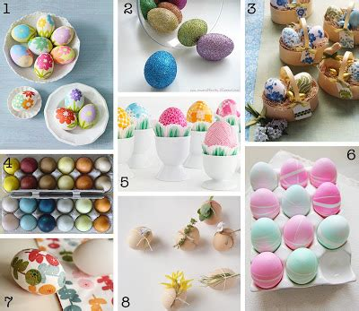 the creative place diy easter egg decorating roundup
