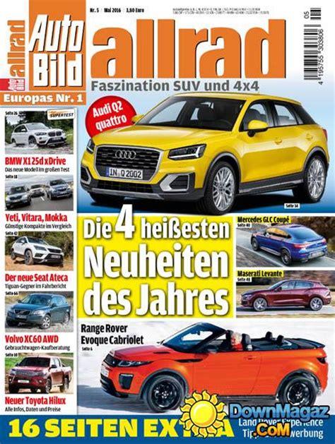 Auto Bild Allrad 04 2016 by Auto Bild Allrad 05 2016 187 Pdf Magazines