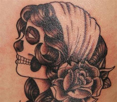 gypsy head tattoo day of the dead www pixshark images