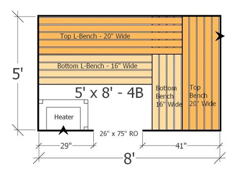 sauna floor plans 9 best sauna design layouts and plans images on sauna design bench and benches