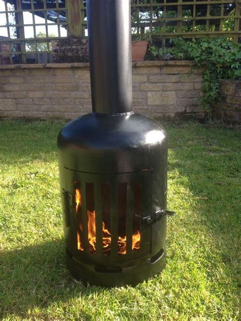 propane tank chiminea 14 best images on wood stoves log burner