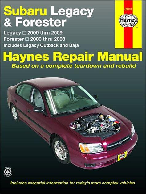 online auto repair manual 2009 subaru forester lane departure warning subaru legacy outback baja forester repair manual 2000 2009