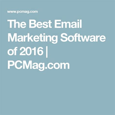best 25 email marketing software ideas on