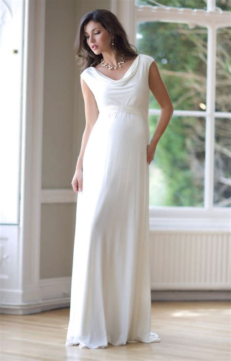 maternity wear for a wedding liberty maternity wedding gown ivory maternity wedding