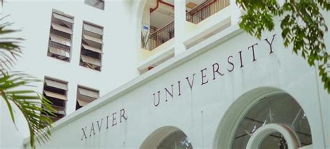 Xavier Ateneo De Cagayan Mba Program by Xavier Ched Declares Xu Delivering Hei To