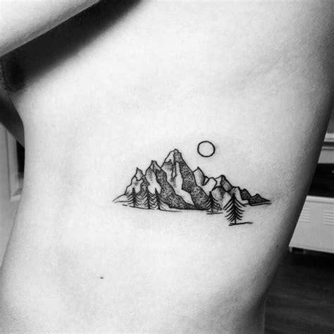 small badass tattoos the 25 best small mountain ideas on