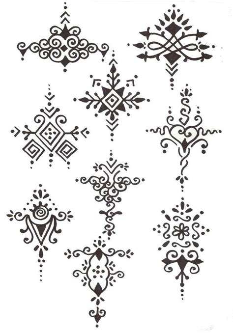 henna tattoos to draw henna designs for arabic for easy step by step