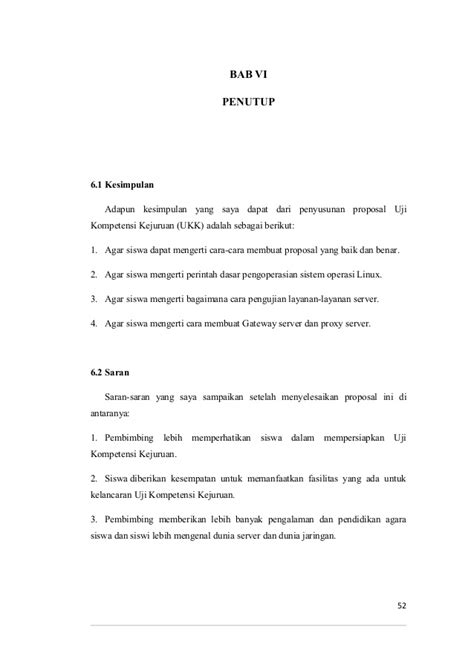 Proposal Ukom | proposal ukom