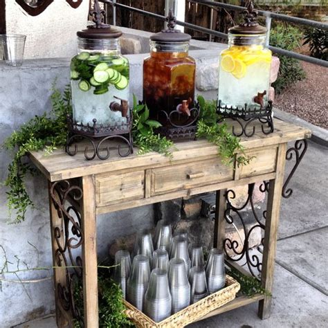 pansy breakfast on pinterest drink stations table drink station