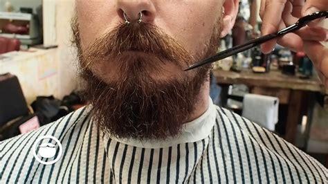 haircut beard youtube the balbo beard style with sideburns and haircut youtube