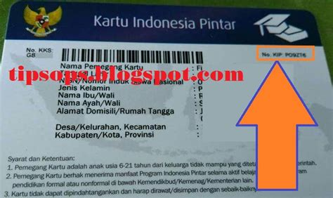 kode kode kartu 3 letak nomor kode kip kks kps pkh yang benar untuk program
