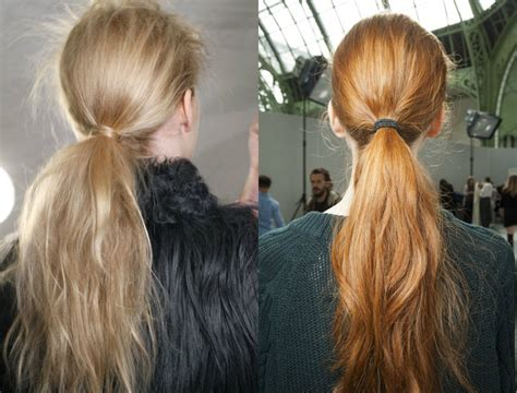 Low Ponytail Hairstyles by Adorable Low Ponytail Hairstyles Hairdrome
