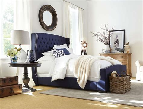 navy beds best 25 upholstered beds ideas on pinterest grey