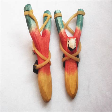 Handmade Slingshots For Sale - handmade animal wooden slingshot buy wooden