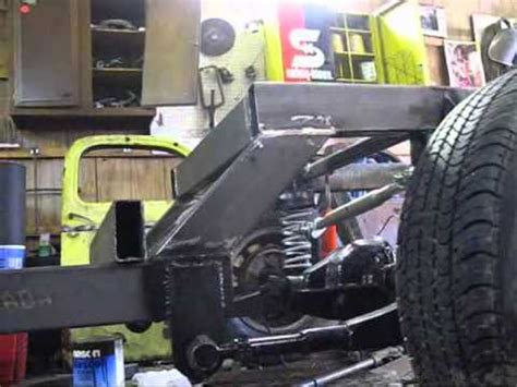 build an a frame mike s ratrod ride height frame square youtube