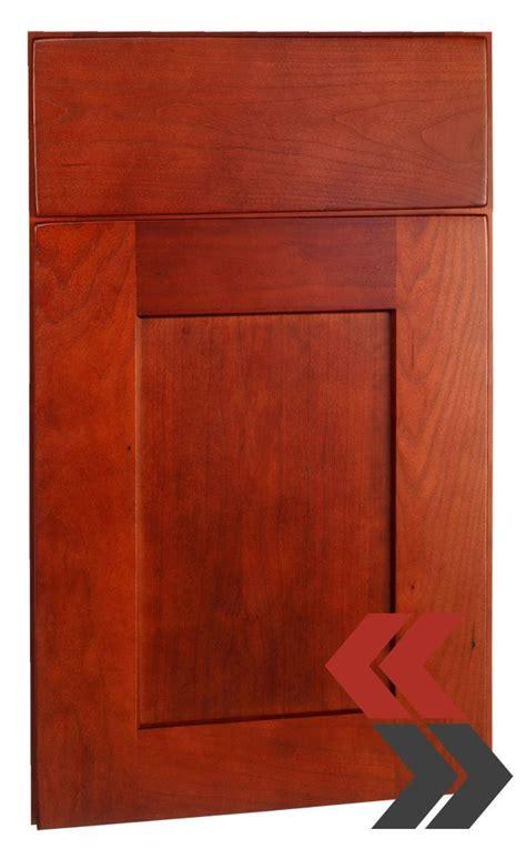 cherry shaker cabinet doors deerfield s shaker cherry cranberry cabinet door style