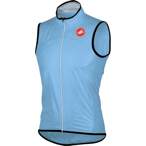 waterproof cycling vest wiggle castelli sottile due waterproof vest cycling gilets
