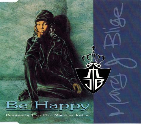 J Blige Album In Stores Today by J Blige Be Happy Cd At Discogs