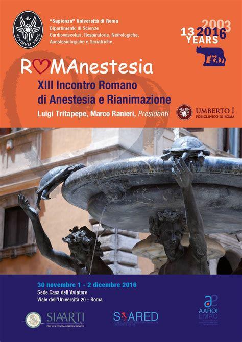 casa dell aviatore roma romanestesia 2016 roma casa dell aviatore 30 11 1 2 12