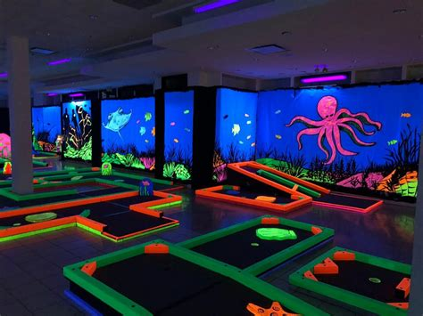 black light bowling near me florence and notes glowgolf comes to florence mall