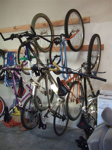 Hanging Bike Racks For Garage by 1000 Images About Diy Garage Storage On