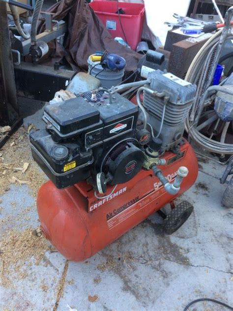craftsman air compressor gas for sale in grover ca offerup