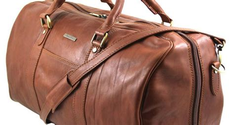 The Knoxx Roan Weekend Handbag by Tuscany Leather Mens Weekend Bag Italian Leather 2683