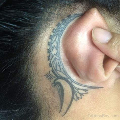 gang tattoo behind ear ear tattoos tattoo designs tattoo pictures page 10