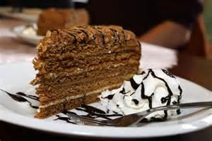 tschechische rezepte kuchen tschechischer honigkuchen bild foto mathias k