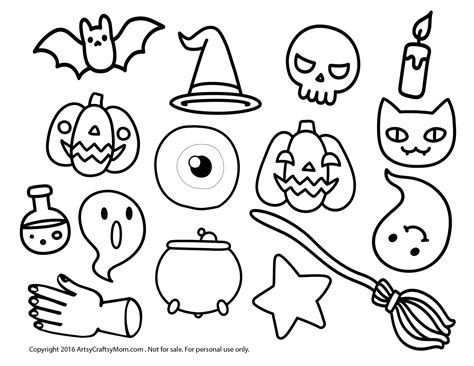 printable halloween bookmarks to color super quick non candy halloween mini bookmark treats