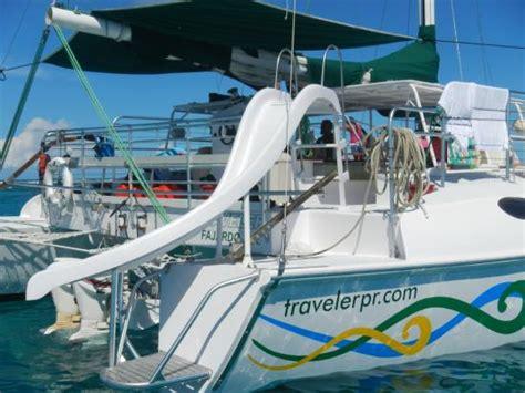 traveler catamaran fajardo icacos island fotograf 237 a de traveler catamaran fajardo