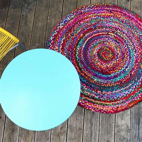 runder teppich bunt bunt runder teppich