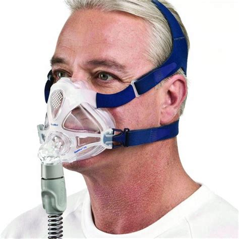 cpap full face masks most comfortable quattro fx full face cpap mask with headgear by resmed