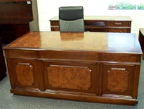 Executive Office Desks And Office Desks On Pinterest Used Executive Office Desks