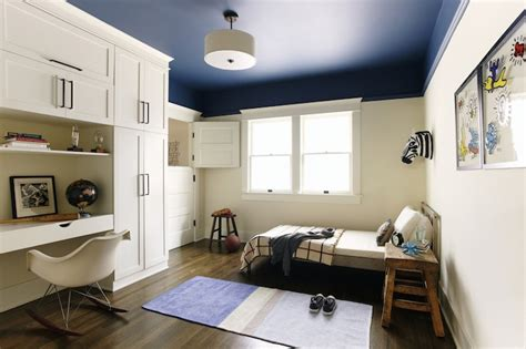 dark blue boys bedroom boy s built in desk contemporary boy s room simo design