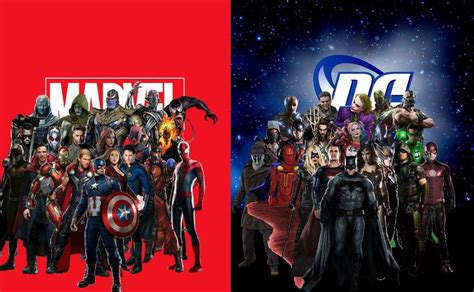 film marvel e dc marvel vs dc is trending on twitter