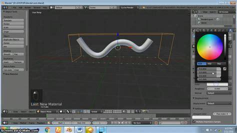 membuat video animasi dengan blender tutorial membuat animasi air mengalir di pipa dengan