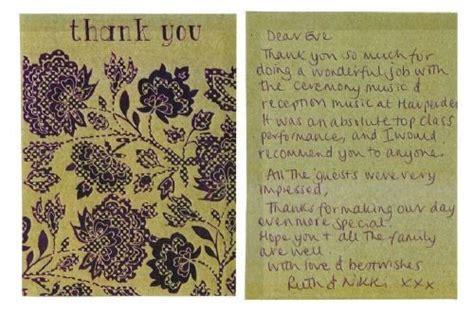 thank you letter to piano ablott piano piano tutor in gosport uk