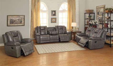 top grain leather sofa set grey top grain leather reclining sofa set usa