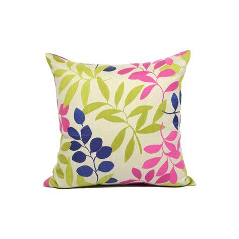 federa cuscino federa cuscino foglie colorate tina codazzo home