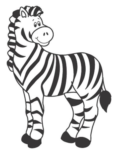 dibujos infantiles cebra dibujos de cebras para colorear