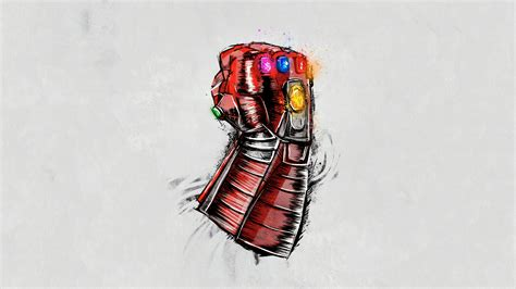 avengers endgame gauntlet sketch poster hd movies