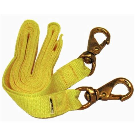 Scuba Lanyard Retractor Cl 17 blue water sports buddy line multi purpose lanyard with 25mm width yellow webbing and 2