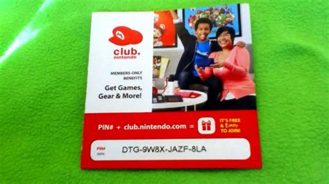 Club Nintendo Codes Giveaway - free club nintendo code giveaway 2013 youtube