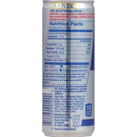 xs energy drink nutrition label bull nutrition label 12 oz nutrition ftempo