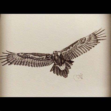 tattoo wedge tail eagle wedge tailed eagle stippling amelia fulton art