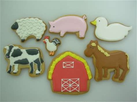 1000 images about barnyard animals sugar cookies on